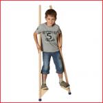 Pedalo stelten 140 cm voor kinderen vanaf 4 jaar