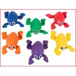 pittenzakjes kikker geleverd in een set van 6 kleuren