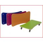 set van 4 rolplanken Pedalo geleverd in een kleurenassortiment