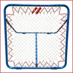 een tchoukbal verstelbaar van 100 x 100 cm