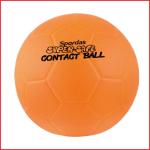 een zacht en lichte trefbal van 15 cm met een gewicht van 150 gram