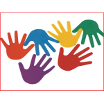vloermarkeringen handen geleverd in een kleurenassortiment