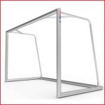 aluminium voetbaldoel 300 x 100 cm