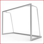 aluminium jeugdvoetbaldoel van 300 x 200 cm