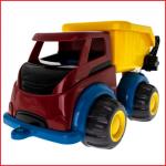 bijna onverwoestbare vuilniswagen Viking Toys van 28 cm