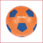 een zachte speelbal van 12 cm met een goede weerstand