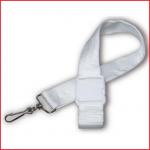 een nylon adjusterband met karabijnhaak