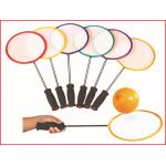 set van 6 badaloon rackets inclusief 144 ballonnen