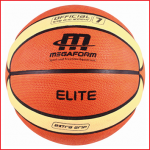 een basketbal training met officiële afmetingen en gewicht