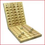 houten controlebord bingo