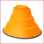 de top basis 25 cm van Gonge verhoogt de moeilijkheidsgraad van je balanceerparcours