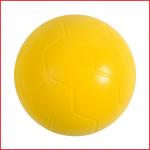 een handbal foam van 16 cm