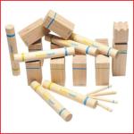 Kubb is een houten strijdspel voor uren speelplezier