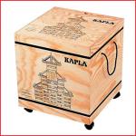 een rollerbox van Kapla met 1000 houten plankjes