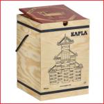 een box van Kapla met 280 houten kabouterplankjes