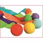een set van 6 staartballen om te werpen en te vangen