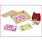 een handige en compacte lotto/kienset voor thuis of op vakantie
