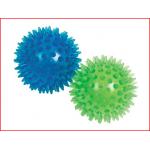 set van 2 massage ballen met een diameter van 8 cm