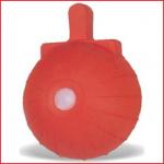 een rode nockenbal van 600 gram
