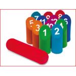 numbers Kubb foam is een veilig kegelspel voor kinderen