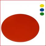 set van 4 ronde markeringen met een diameter van 25 cm