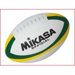 de rugbybal Mikasa 7000W is geschikt voor training en wedstrijd