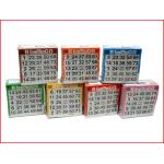 set van 7 blocs met 500 bingokaarten