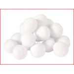 een set van 12 zachte en veilige sneeuwballen