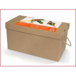 doos met 433 wafelblokken om te bouwen en te spelen