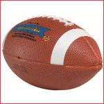 een Spordas Max American football in cellulair rubber