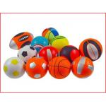 een set van 12 kleine sportballen foam