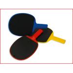 een tafeltennispalet met rubberen oppervlak