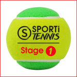 set van 3 tennisballen stage 1