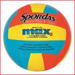 sterke en duurzame volleybal in rubber met een zachte toets