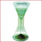 een zandloper 3 minuten met een goede en stevige grip