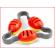 body bells zijn kunststof schelpen met belletjes die aan elkaar verbonden zijn