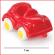 kleine voertuigen Viking Toys met een lengte van 7 cm