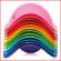 stapelbare Bilibo schelpen in aantrekkelijke kleuren