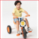 comfortabele driewieler voor kinderen van 3 tot 6 jaar