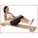 het Pedalo balansbord kan ook zittend of liggend gebrikt worden