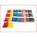 set van 26 pittenzakjes met alle letters van het alfabet