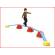 deze Gonge balanceerplanken vormen de basis voor het uitzetten van een balanceerparcours