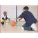 de rinkelbal kan samen gebruikt worden met onze blinddoeken