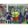 paar voetbaldoelnetten 7,50 x 2,50 m verkrijgbaar in verschillende kleurcombinaties