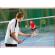 een badmintonnet voor wedstrijden