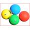 gladde en blinkende ritmische gymnastiekbal in 4 kleuren