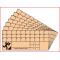 set van 10 controlekaarten voor oriëntatieloop
