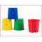 multifunctionele emmers in een set van 4 kleuren