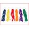regenboog ringen met gekleurde slingers van 30 cm