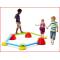 de Gonge Build 'N Balance intermediate set is een veelzijdig evenwichtsparcours